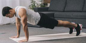 Тренировка дня: мощная прокачка рук, плеч и корпуса без гантелей