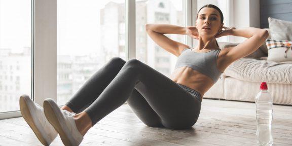 Тренировка дня: прокачайте все мышцы корпуса за 10 минут