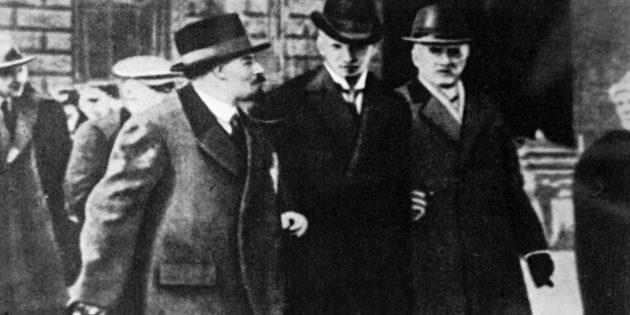 В. И. Ленин в Стокгольме