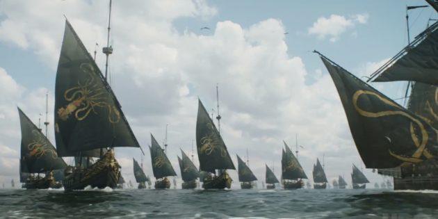 Ошибки «Игры престолов»: Эурон не смог бы построить тысячу кораблей