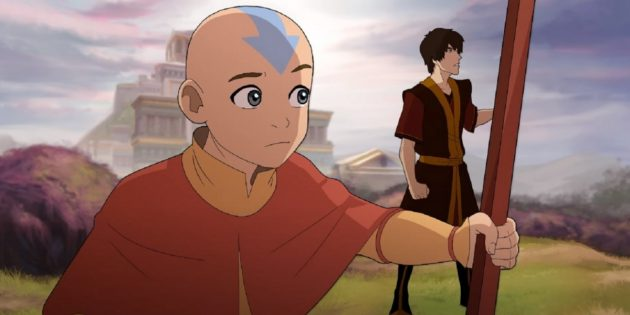 Мультфильмы Nickelodion: «Аватар: Легенда об Аанге»