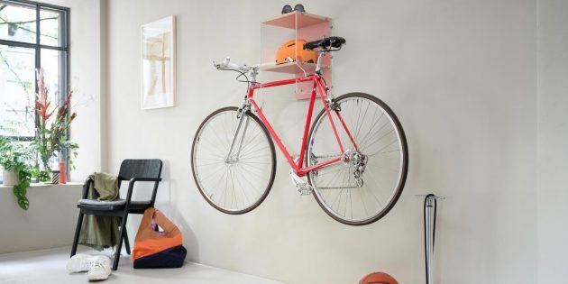 Полезные вещи своими руками: стильный шкаф для велосипеда