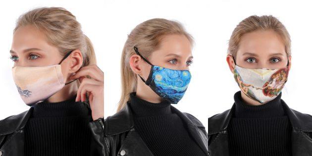 товары с AliExpress: многоразовая маска