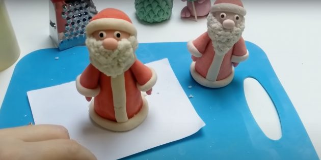 Дед Мороз из солёного теста своими руками