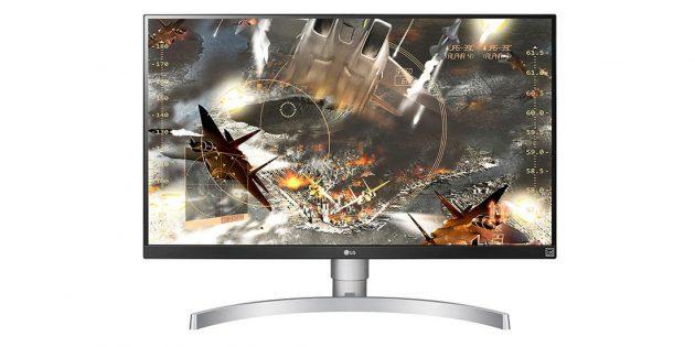 Выгодные покупки: 4K-монитор LG