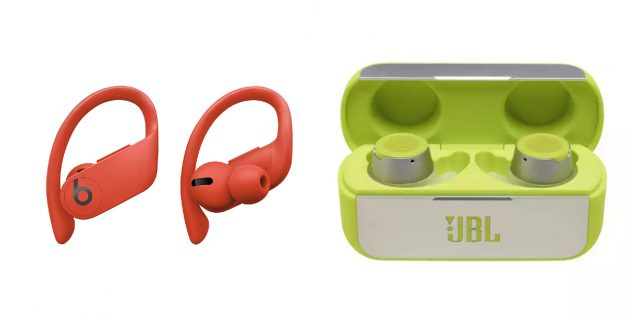 Альтернатива Powerbeats Pro — JBL Reflect Flow