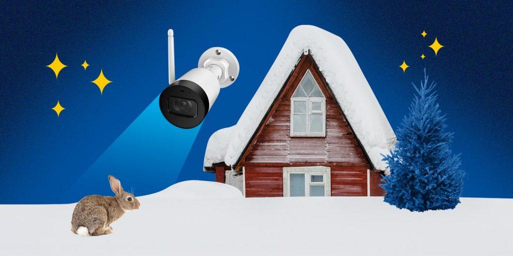домашнее видеонаблюдение — сохранность дачи