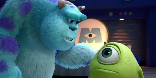 Мультфильмы Pixar: «Корпорация монстров»