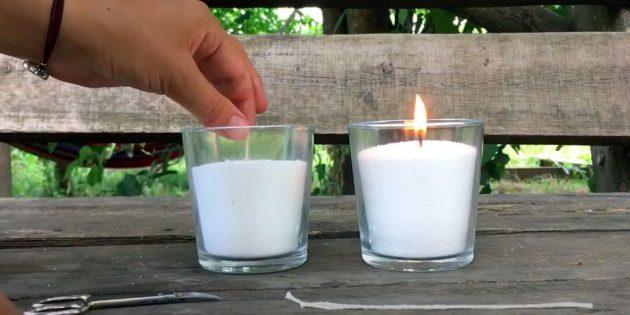 Свеча своими руками: воткните фитиль