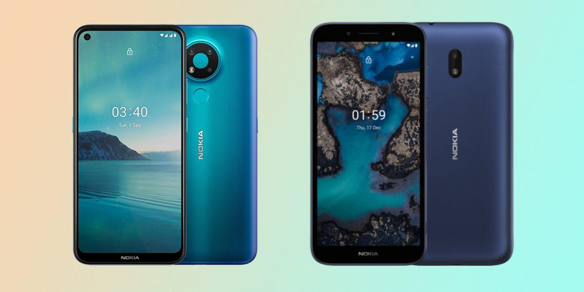 Nokia 5.4 и Nokia C1 Plus представлены официально