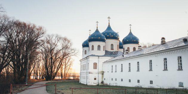 Путешествие по России зимой: Великий Новгород