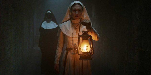 Фильмы ужасов 2021 года: «Проклятие монахини»