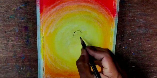 Начните рисовать голову