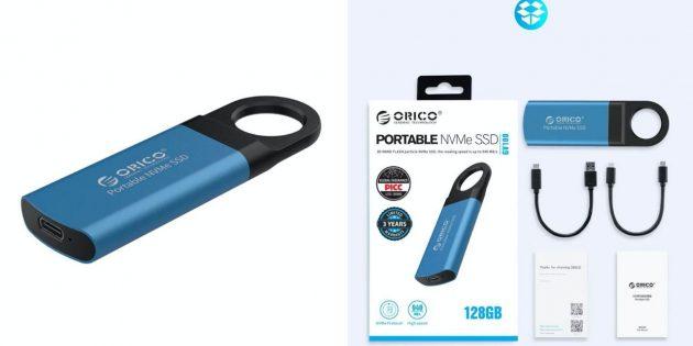 товары с AliExpress: внешний SSD-накопитель Orico
