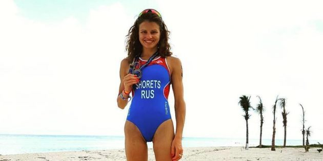 Мария Шорец до лечения рака: на чемпионате мира по акватлону в Мексике