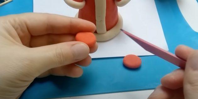 Как сделать Деда Мороза своими руками: сделайте лепёшки