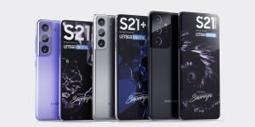 Дизайн Galaxy S21, S21+ и S21 Ultra раскрыт слитыми в Сеть промороликами