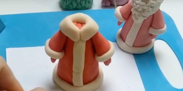 Как сделать Деда Мороза своими руками: сделайте воротник