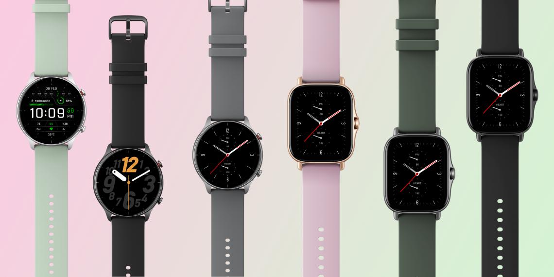 Huami представила смарт-часы Amazfit GTS 2e и GTR 2e