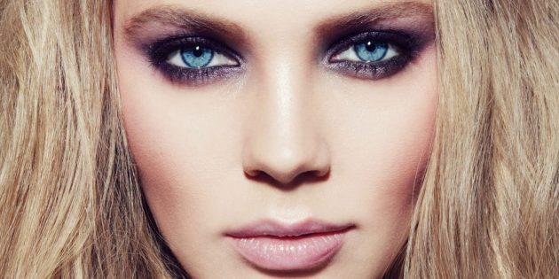 Модный макияж: смоки айс