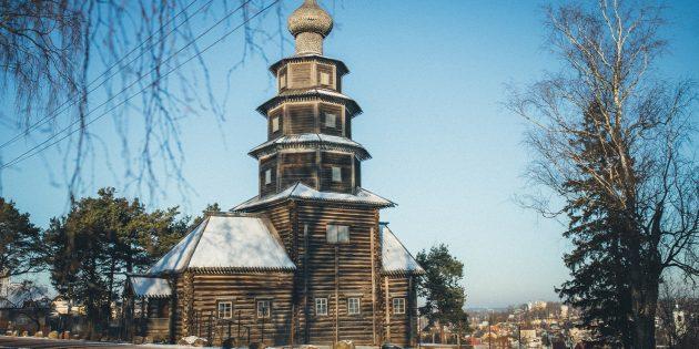 Путешествие по России зимой: Торжок