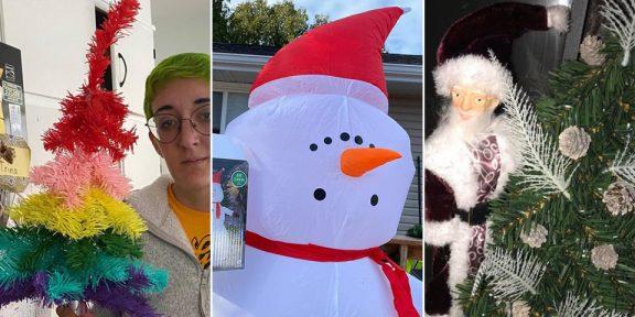 Ожидания против реальности: 12 фото неудачных новогодних украшений, купленных в интернете