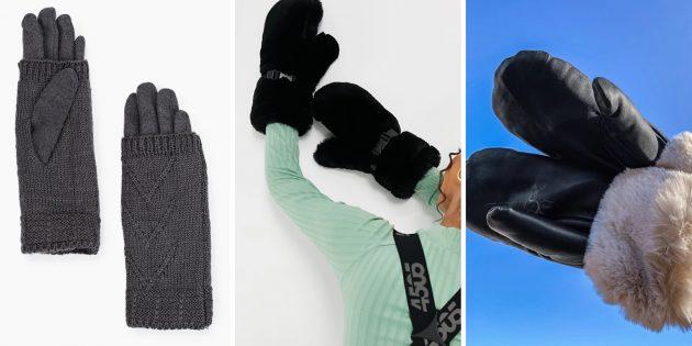 Подарки воспитателю на Новый год: Красивые варежки или перчатки