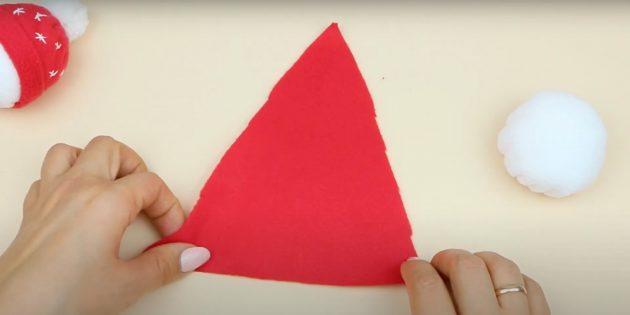 Вырежьте треугольник
