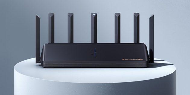 Xiaomi представила роутер Mi Router AX6000
