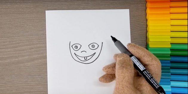 Нарисуйте лицо