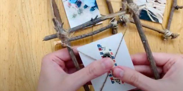 Поделки из дерева своими руками: закрепите фотографию скотчем