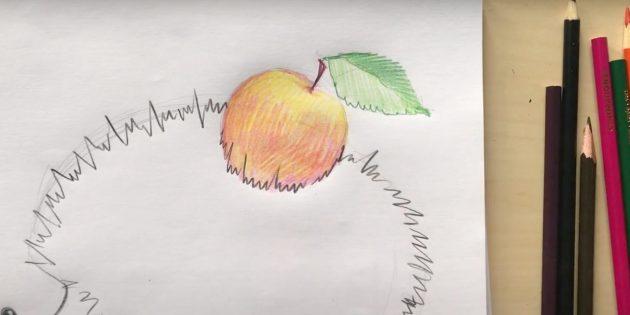 Нарисуйте иголки