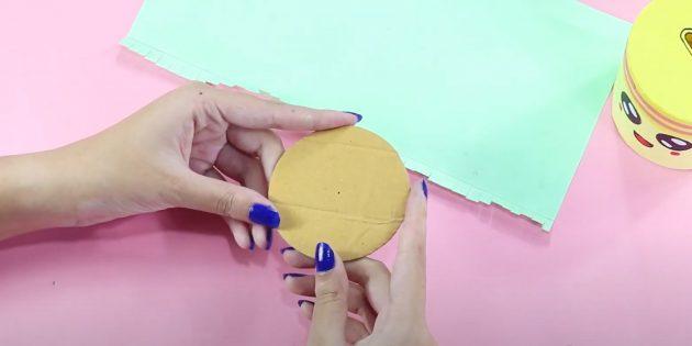 Копилка своими руками: сделайте круг