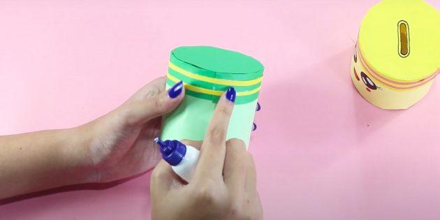 Как сделать копилку своими руками: украсьте крышку
