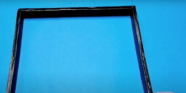 Поделки из дерева: сделайте рамку и покрасьте её