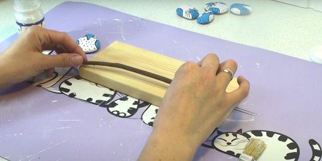 Поделки из дерева своими руками: приклейте палочку
