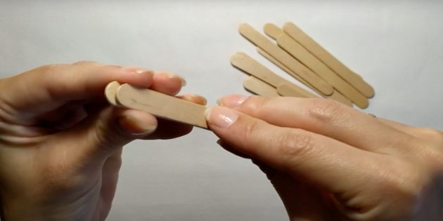Поделки из дерева: склейте палочки