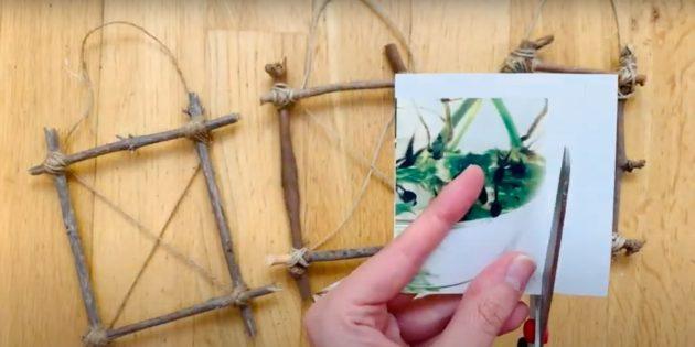 Поделки из дерева: подготовьте фотографию