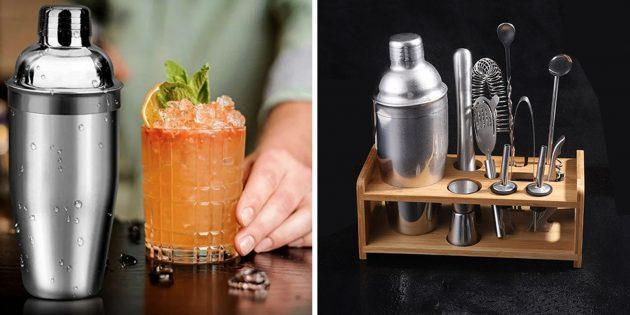Что подарить другу на 23 Февраля: набор для приготовления коктейлей