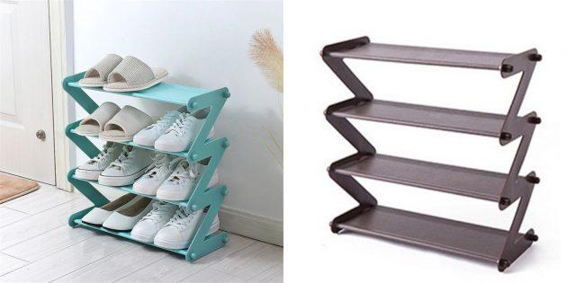 Компактная стойка для обуви