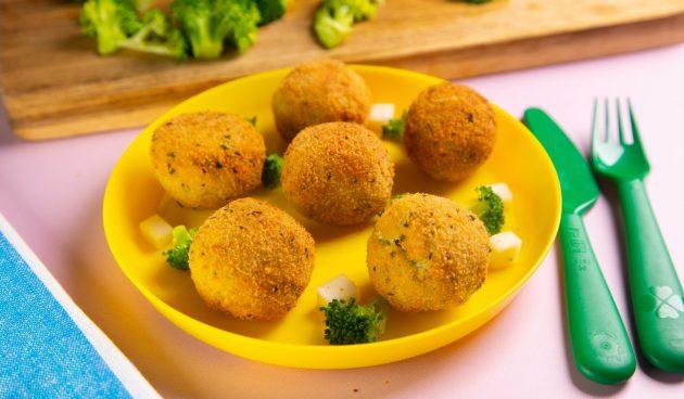 Картофельные крокеты с брокколи