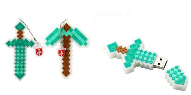 Необычные флешки: пиксельная флешка