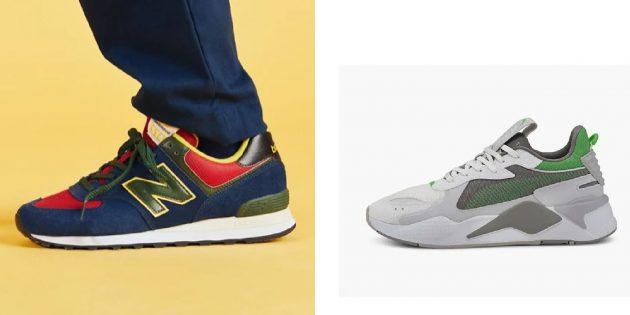 Подарки любимому на 23 Февраля: модные кроссовки