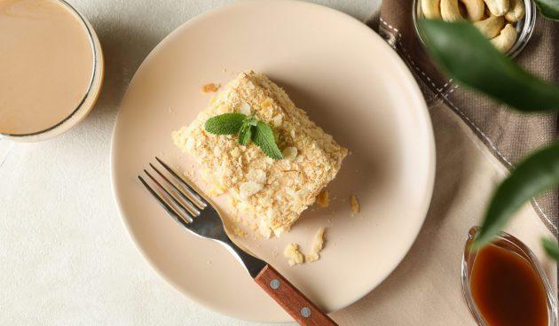 Торт «Ленивый наполеон». Всего три ингредиента!