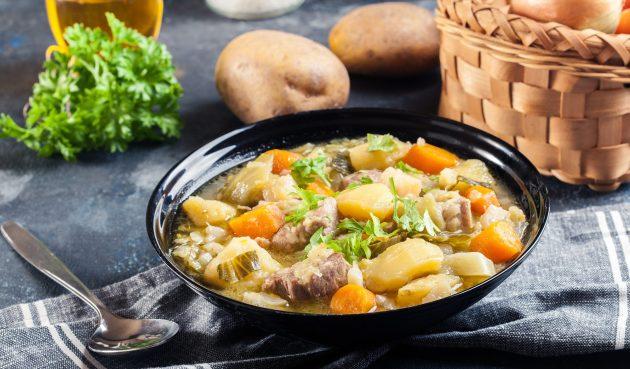 Пихельштайнер — немецкий суп-рагу из трёх видов мяса