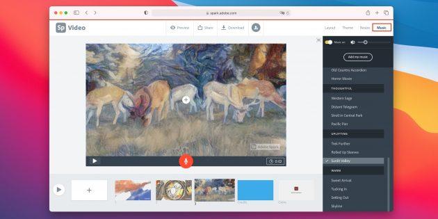 Как сделать слайдшоу из фотографий онлайн: добавьте музыку