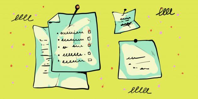 Как сделать офис дома: разместите список задач на видном месте