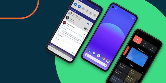 В Android 12 появятся «склейка приложений» и быстрый обмен паролями от Wi-Fi