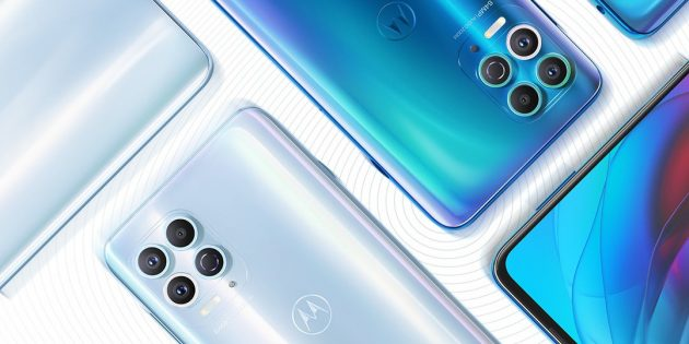 Новые смартфоны: Motorola Edge S