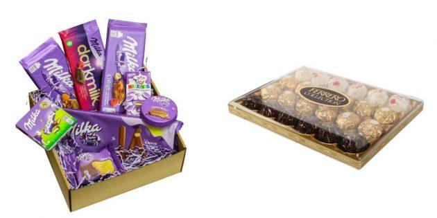 Что подарить брату на 23 Февраля: набор сладостей